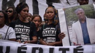 Marche organisée à Paris le 30 juillet pour dénoncer la mort d'Adama Traoré.