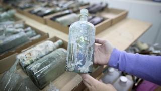 Древние бутылки