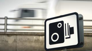 Speed camera image