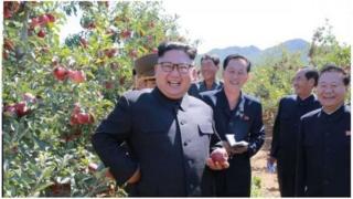 Prezida wa Korea ya ruguru Kim Jong-un