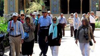 مسافران خارجی به ایران