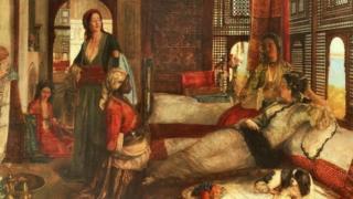 غرس فنانون مثل ديلاكروا وجيروم وجان فريدريك لويس صورا للعالم العربي في مخيلة الثقافة الغربية