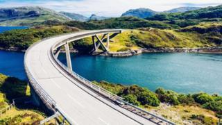 Kylesku Bridge on the North Coast 500