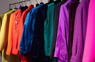 A range of coats in a rainbow of colours