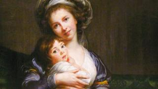Autorretrato de Madame Vigée-Le Brun e filha