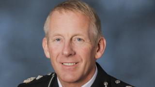 Andy Rhodes in uniform