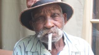South African 'world's oldest man' wants to stop smoking