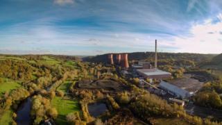 Ironbridge power station stite