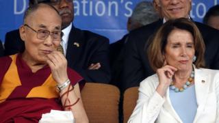 达赖喇嘛,南希·佩洛西
