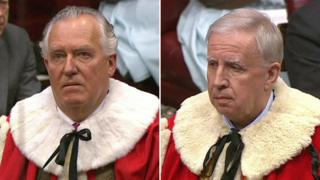 Lord Hain and Lord Murphy