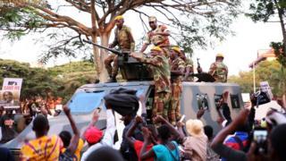 Военные Зимбабве