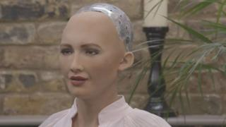 सोफिया एक रोबोट