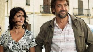 أبطال الفيلم الممثلة الإسبانية بنيلوبي كروز، والممثل خافيير باردِم