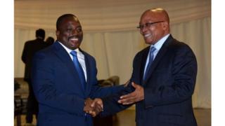 Cette visite sera essentiellement consacrée à la session annuelle de la commission bipartite RDC Afrique du Sud prévue à Pretoria.