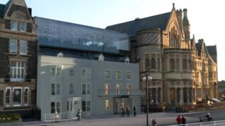 Proposed redevelopment of Old College, Aberystwyth