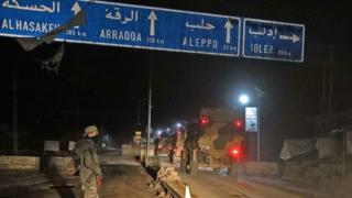 Türk ordusu İdlib'e doğru hareket ediyor