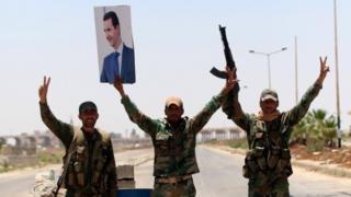 El imparable avance hacia la victoria de Bashar al Asad en la guerra de Siria - BBC News Mundo