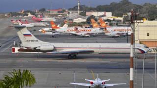 Ил-62 в Каракасе