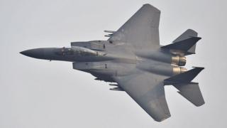 A South Korean F-15 fighter jet