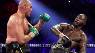 Deontay Wilder sostiene ataque de Tyson Fury