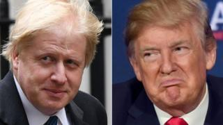 Boris Johnson ve Donald Trump