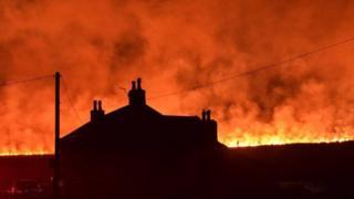 Marsden moor fire 2019