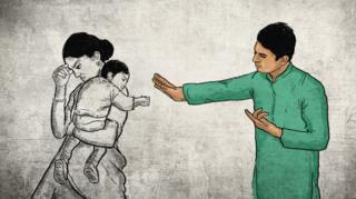 பிரிந்து செல்லுதல் - சித்தரிப்பு படம்