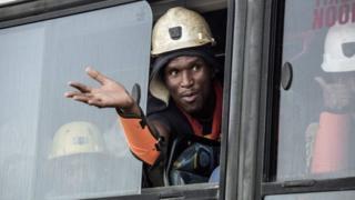 африканский шахтер