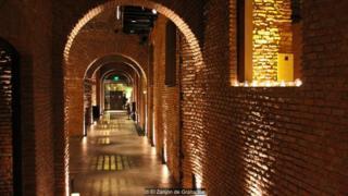 Túneles restaurados de El Zanjón de Granados