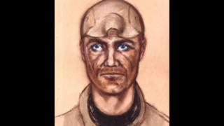 Artists' impression of the gunman