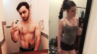 Гвен до и после трансформации