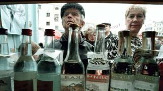 Russian alcohol consumption down 43%, WHO report says