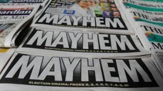 Британские газеты на следующий день после выборов