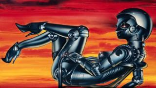 زن روباتی، طرح از آنتون برژینسکی