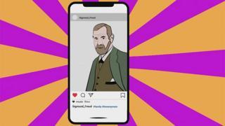 Freud on Instagram feed