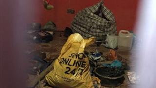 پلیس در خانه یکی از متهمان اجزای مختلفی از بدن انسان را یافته است