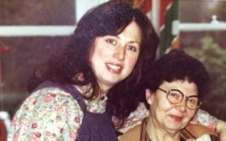 Judy Wertheimer and her mother Helen Taichner