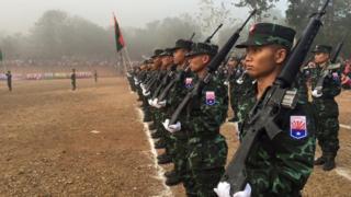 ကေအန်ယူတပ်ဖွဲ့ဝင်တွေ