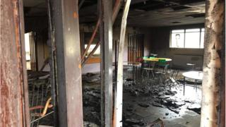 arson at ebrington school