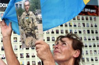 Вшанування першої річніці Іловайська у Києві, 29 серпня 2015 року.