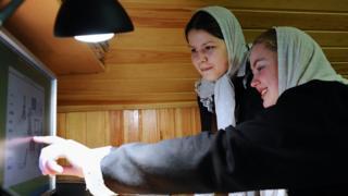 Интернет-класс в Покровском монастыре