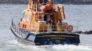 Northern Ireland Portrush lifeboat