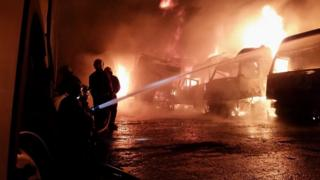 Fire in Wolverhampton