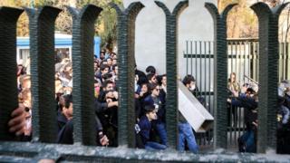 درگیری در دانشگاه تهران