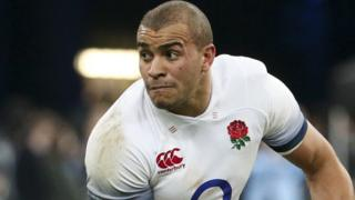 Jonathan Joseph playing for England