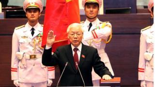 Tổng Bí thư Nguyễn Phú Trọng tuyên thệ nhậm chức Chủ tịch nước hôm 23/10