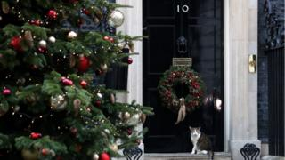 Downing Street at Christmas
