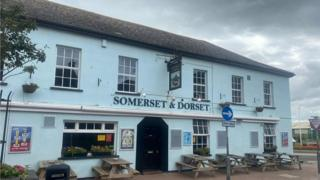 Somerset and Dorset in Burnham-on-Sea