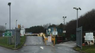 Whitland recycling centre