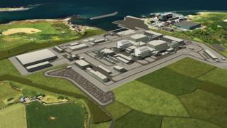 Plans for Wylfa Newydd pylons on Anglesey dropped